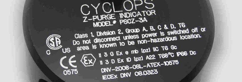 CYCLOPS Z – Purge Indicator