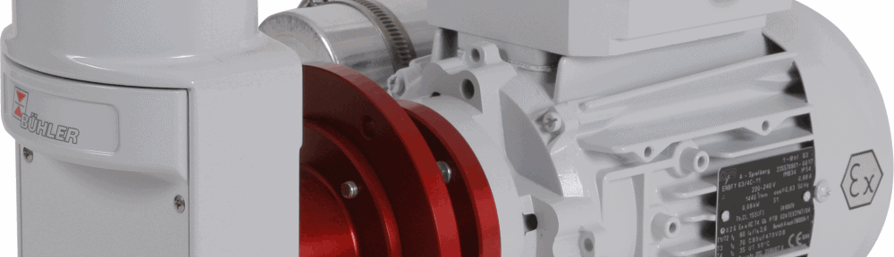 Bühler ATEX pumps are the most durable