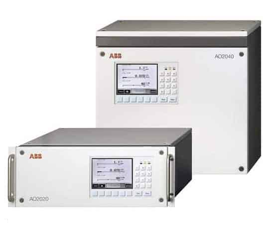 ABB Advance Optima Integrated analyzer system AO2020 and AO2040 product showcase
