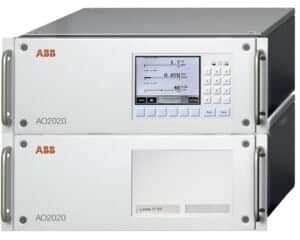 ABB Advance Optima Integrated analyzer system AO2020 stacked