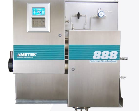 Ametek Model 888 Sulfur Recovery Tail Gas Analyzer