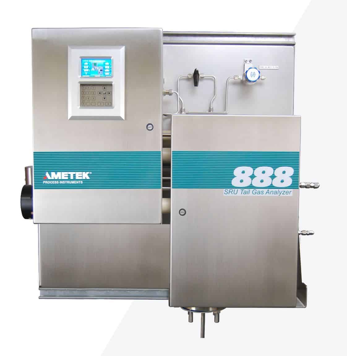Sulfur Recovery Tail Gas Analyzer, The Ametek Model 888
