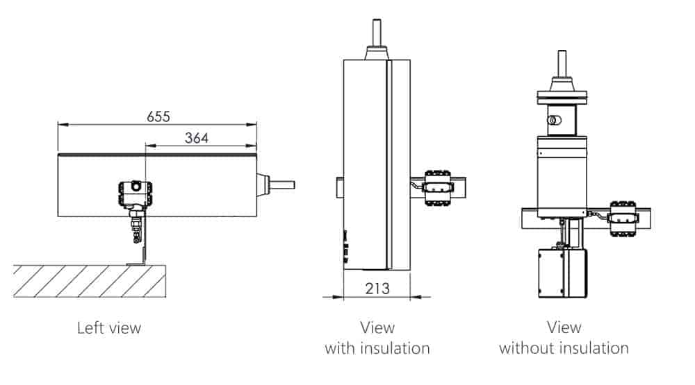 Phazer - LNG Probe-Vaporizer for accurate LNG samples schematics