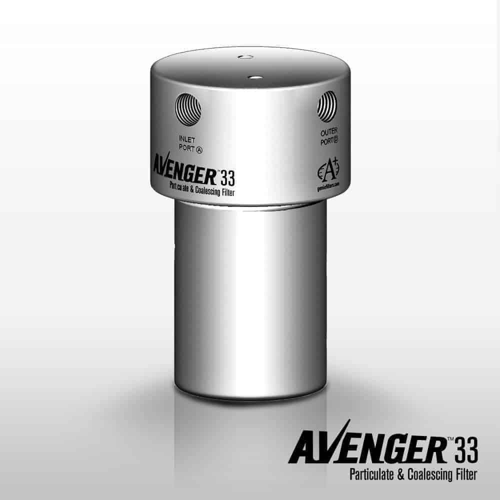 A+ Corporation Avenger Model 33 Particulate Coalescing Filter