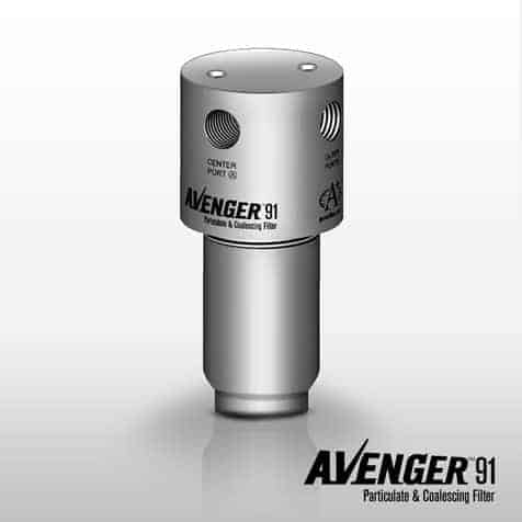 A+ Corporation Avenger Model 91 Particulate Coalescing Filter