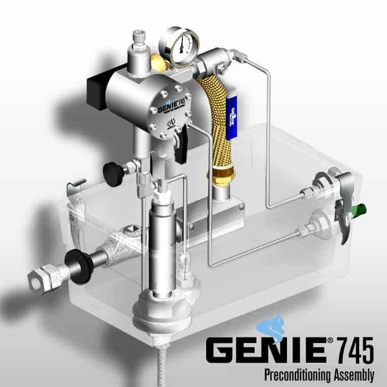 A+ Corporation Genie Model 745 Preconditioning Assembly
