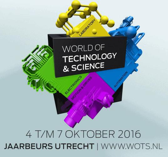 Noteer de datum: 4 t/m 7 oktober WOTS Jaarbeurs Utrecht!