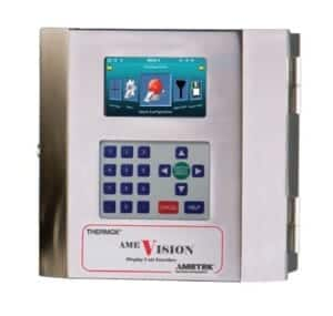Ametek Thermox WDG-V Combustion Analyzer HMI remote calibration