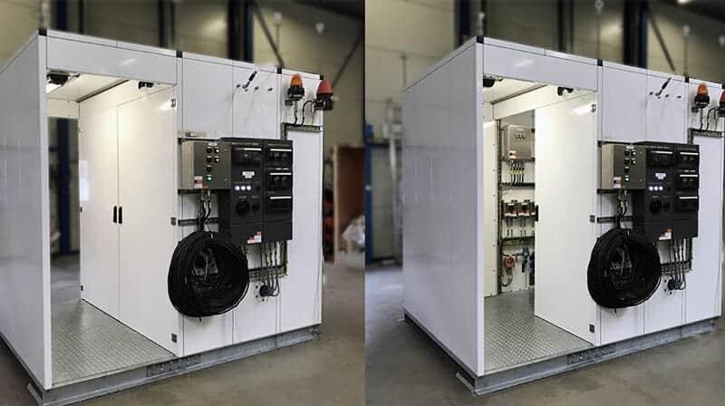 a slim analyzer package analyzer shelter doors demonstration