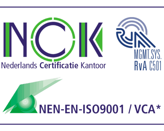 ASaP VCA ISO 9001 certificate