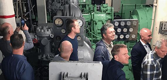 ASaP Past Present Future Event SS Rotterdam Engine Room