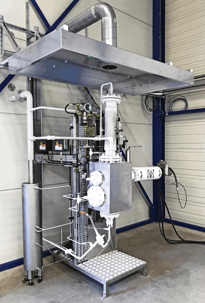ASaP LNG Test Unit with Phazer LNG probe-vaporizer