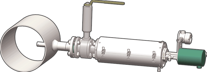 Phazer - LNG Probe-Vaporizer for accurate LNG samples drawing