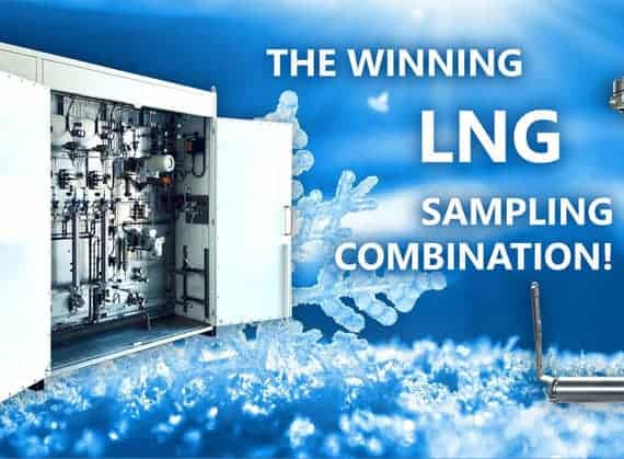 ASaP LNG Sampler System winning combination