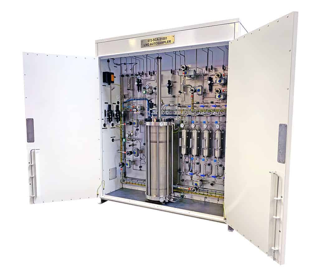 Waterless Continues LNG Sample conditioning system