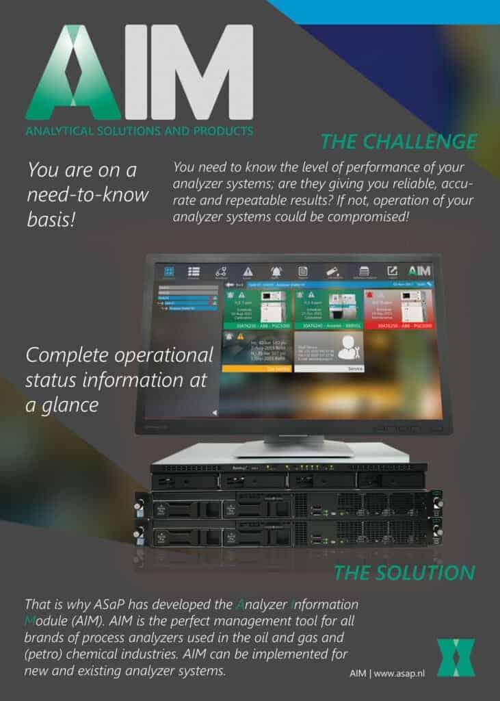 Analyzer Information Module AIM Brochure