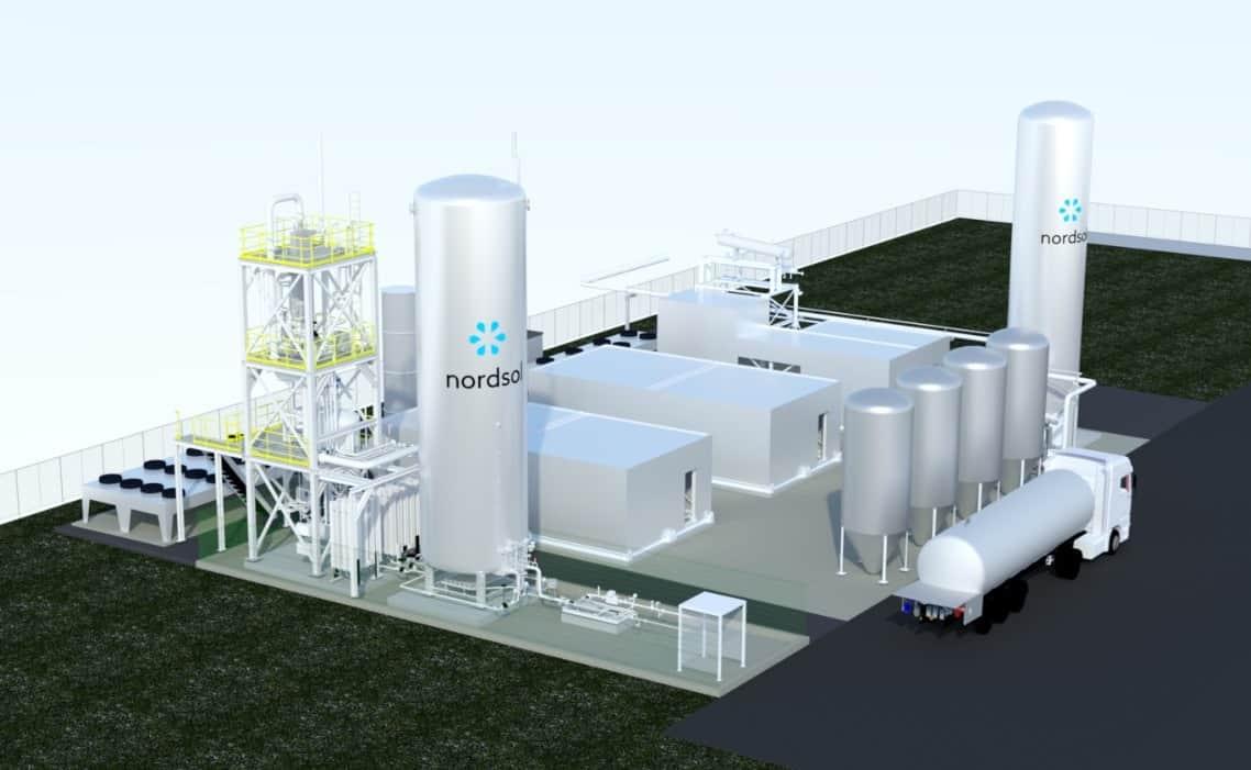 The first Dutch bio-LNG installation, the Nordsol installation