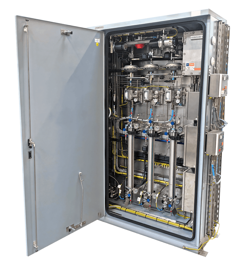 Intermittent LNG Sampler sample cylinders