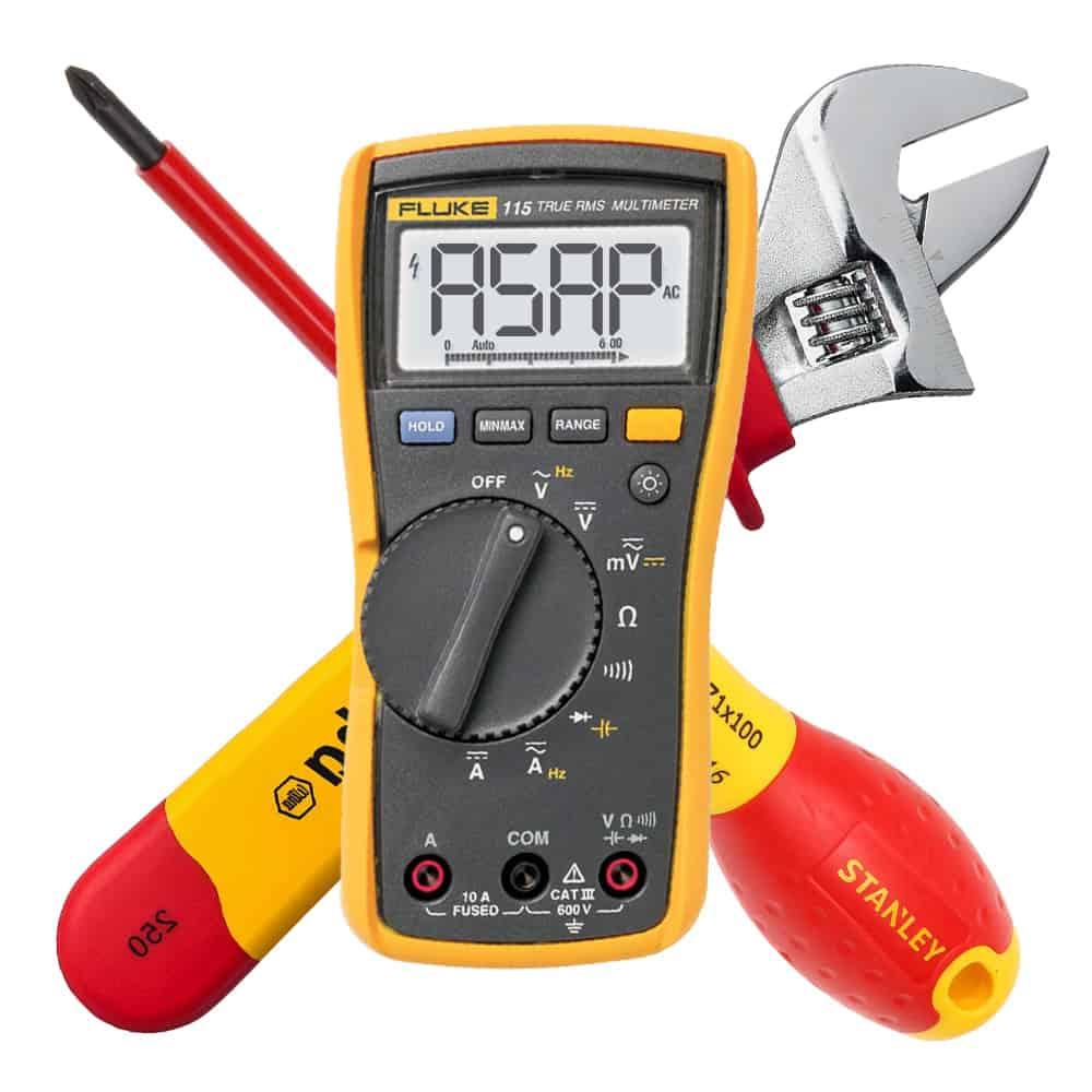 Analyzer maintenance & service multi-meter wrech screwdriver